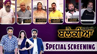 Blackia Special Screening Dev Kharoud Ihana Dhillon Singga Ravinder Grewal Full Star Cast