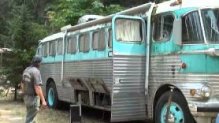 1948 ACF Brill Bus Saved from the Crusher