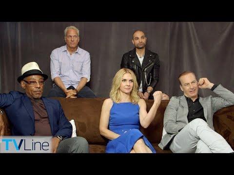 'Better Call Saul' Cast Ps Season 4  ComicCon 2018  TVLine