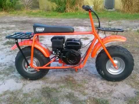 Coleman CT200U off-road mini bike - YouTube