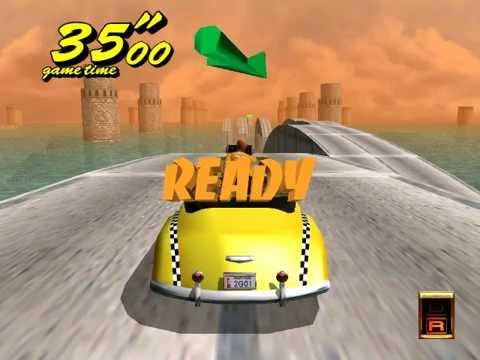 Crazy Taxi 2 Dreamcast (Crazy Pyramid) - Real-Time Playthrough