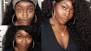 Fenty Beauty CONCEALERS & SETTING POWDERS | Pro Filt'r Concealer 450 & Powder Demo + Wear test