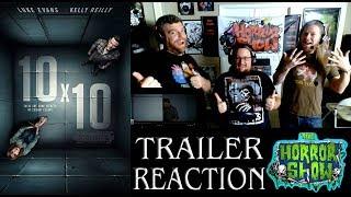 """""""10x10"""" 2018 Dark Thriller Trailer Reaction - The Horror Show"""