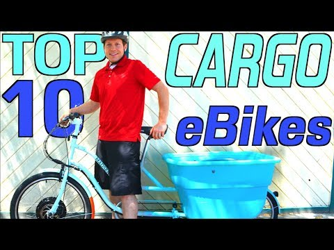 Top 10 Electric Cargo Bikes | What Cargo eBikes are best?