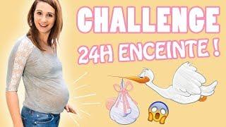 Angie ENCEINTE...pendant 24H!!😱 Vidéo Challenge Angie Maman 2.0