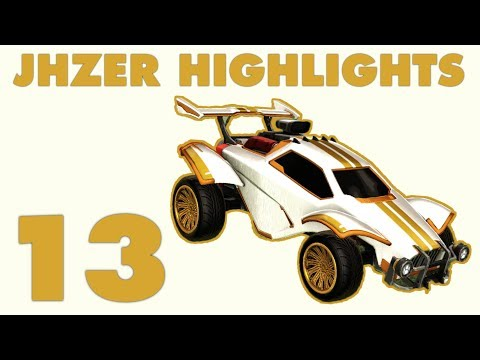 JHZER Highlights Montage 13 (Rocket League Competitive) thumbnail