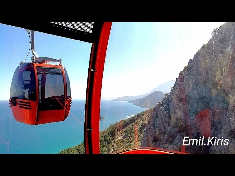 2.The two most amazing Cable car's of Europe.TUNEKTEPE Seilbahn Kemer.Antalya.Emil.kiris