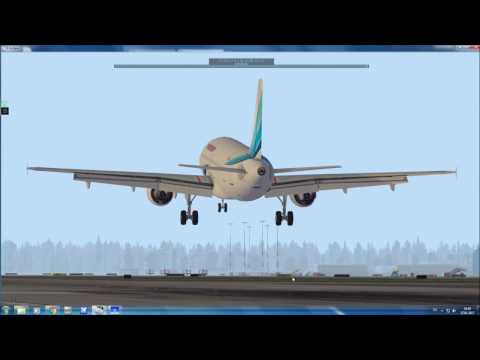 A320Jar Landing UUDD32L