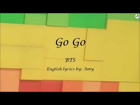 Go Go - English KARAOKE (Instrumental)- BTS