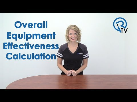 Overall Equipment Effectiveness (OEE) Calculation