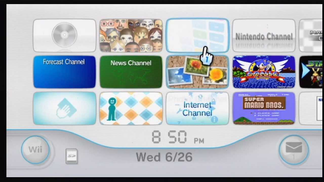 how to make wii games channels