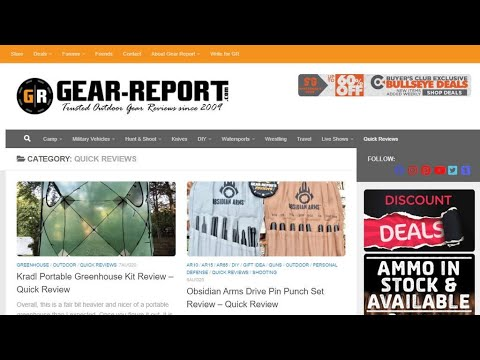 This Week at Gear Report LIVE! - Aug 7, 2020