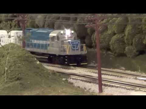 Lionel Lehigh and Hudson River RR C-420 #22 MTH PS2 Upgrade Engine Test #2