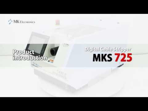 MKS725/Digital cable stripper/Jacket stripper/MK electronics