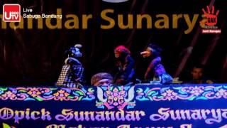"""Wayang Golek """"Semar Gugat"""" oleh Dalang Opick Sunandar Sunarya Part 5"""