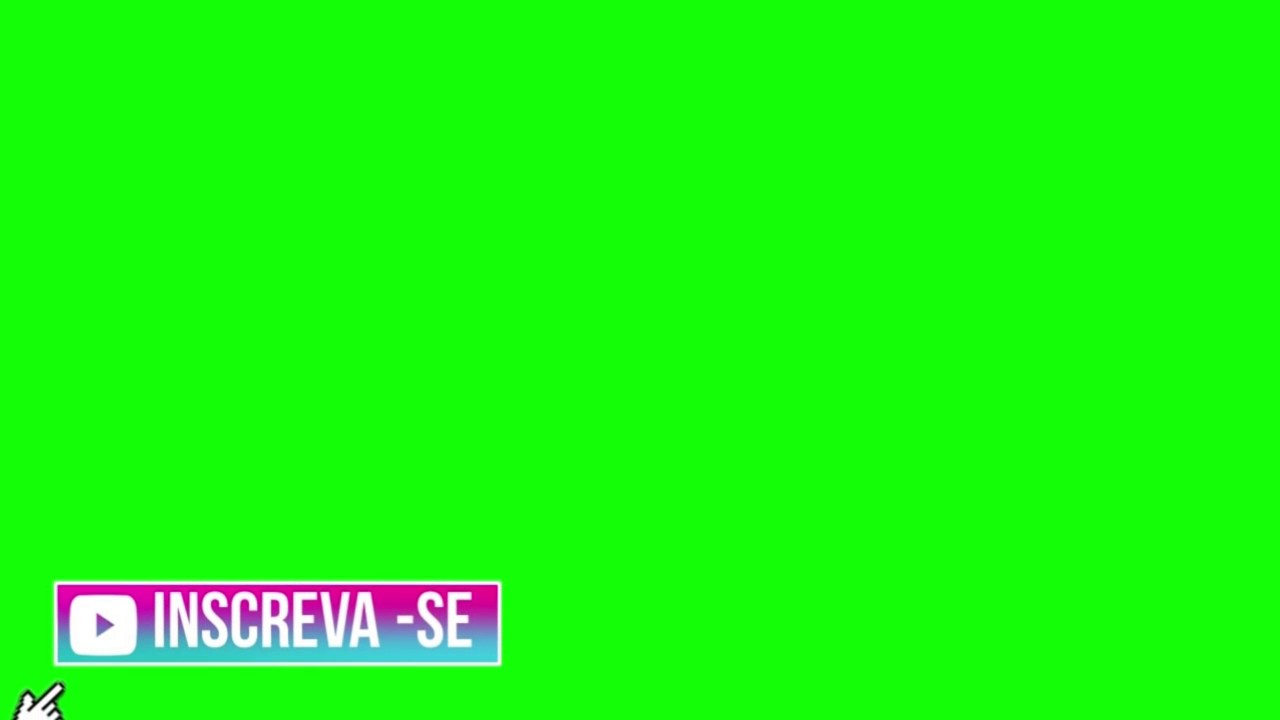 Inscreva-se green screen tumblr | EndlessVideo