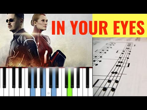 🎼 In Your Eyes - Robin Schulz & Alida (PIANO TUTORIAL + SCORE) 🎹