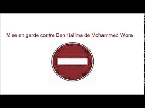Mise en garde contre Ben Halima p.1