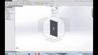 How to Draw a Switch Plate in SolidWorks