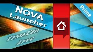 Nova Launcher. Лаунчер,которым я пользуюсь.