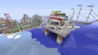 Minecraft Xbox - Oil Rig - SPANKLECHANK