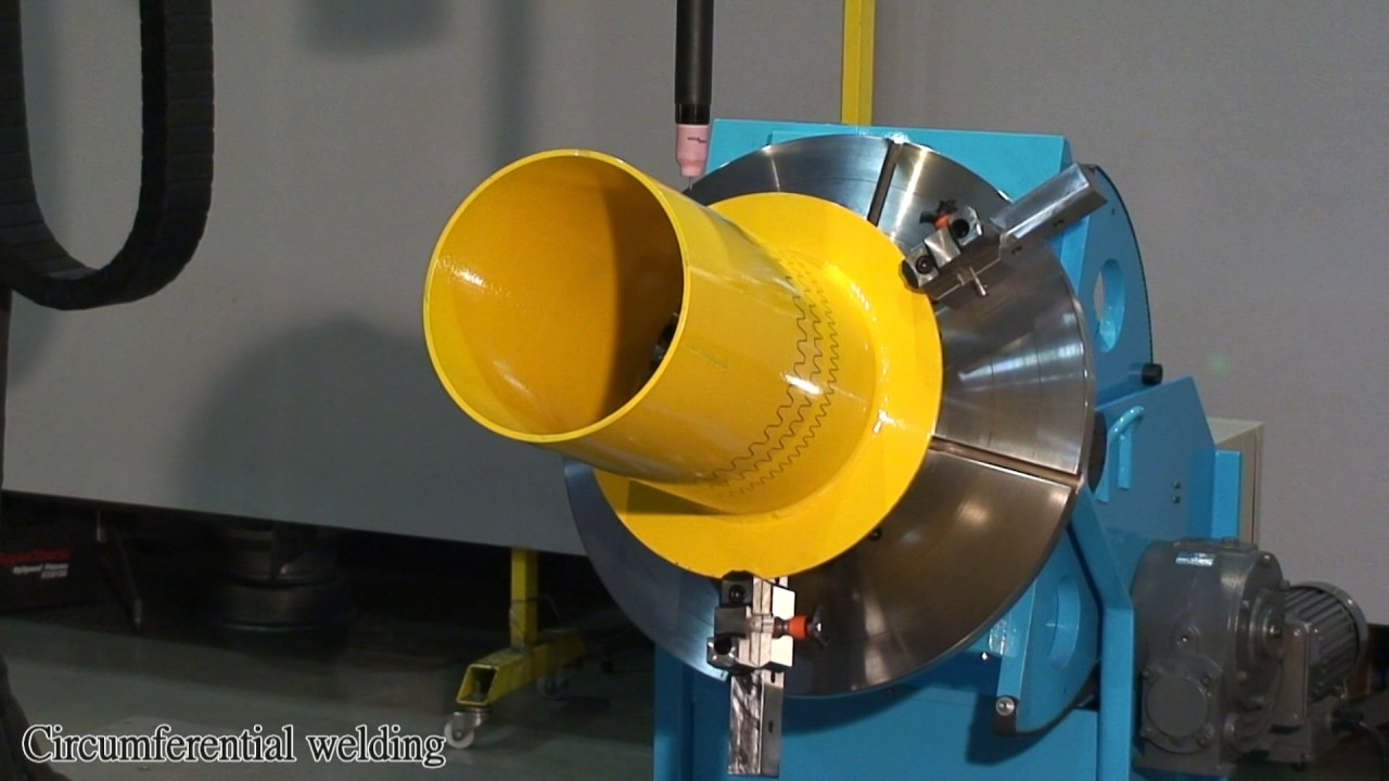 Manipulator and welding positioner integrated as a automation welding system