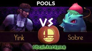 Gambar cover SoCal Arcadian 6 - Pools ft. Yink (Snake) VS Sabre (Ivysaur)