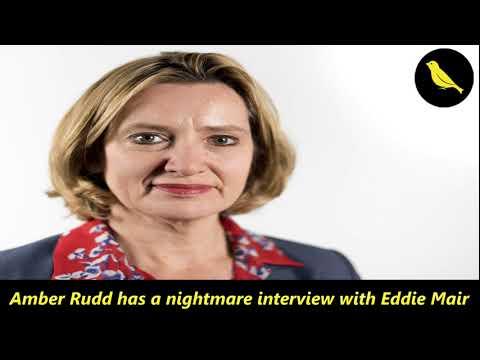 Amber Rudd has a nightmare interview with Eddie Mair