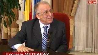 Interviu MEDIAFAX   Iliescu II   Inca 20 de ani pana cand Romania va fi echivalenta cu media Europei dezvoltate