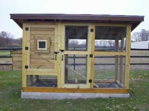 The Best Chicken Coop Wichita Cabin Coop Youtube
