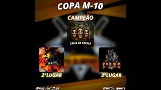 TOP 3 DA COPA M10