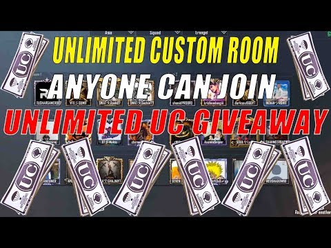 PUBG MOBILE LIVE CUSTOM ROOMS | ANYONE CAN JOIN | LIVE UNLIMITED UC GIVEAWAY | Hindi, Assamese