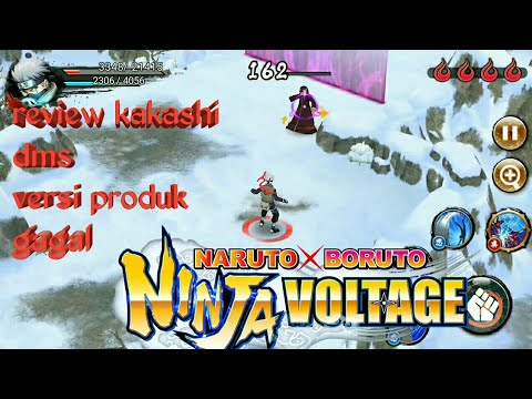 review Kakashi DMS (rekit) version produk gagal Naruto x Boruto Ninja Voltage