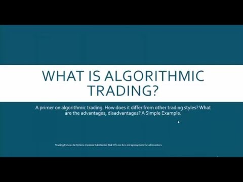 Algorithmic Trading Basics: Examples & Tutorial