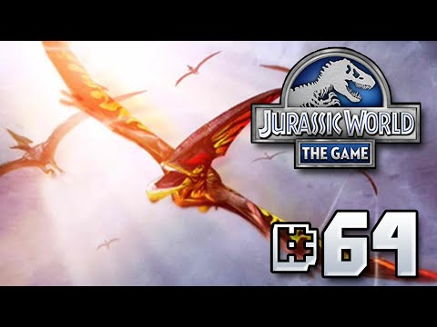 Level 40 PECK OUT EYESES! || Jurassic World - The Game - Ep 64 HD