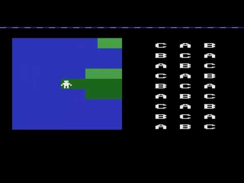 ATARI 2600 Role Playing Game 1999 David Conrad Schweinsberg WIP