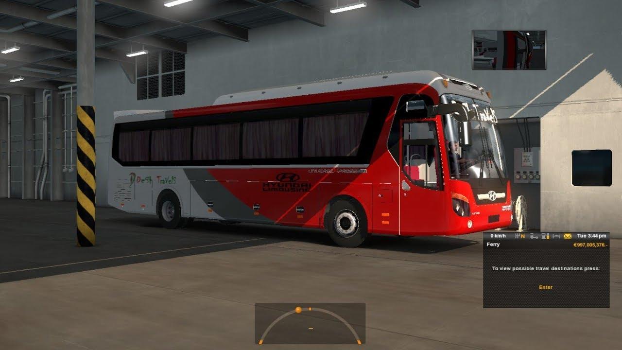 Bangladesh Bus Simulator: Desh Travels Hyundai Universe Showcase by Fahim  Auvro