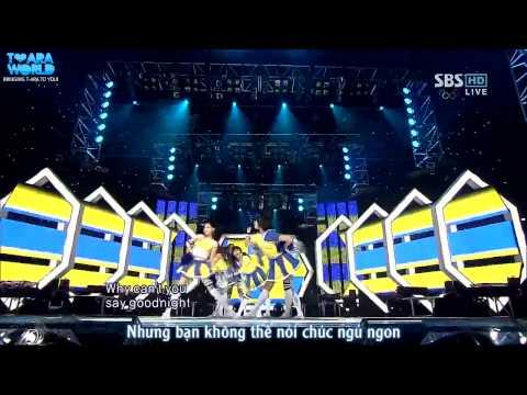 [Vietsub][T-World] Mikey  - Ji Yeon, Hyo Min, Eun Jung & 4Minute, SeeYa, Rainbow