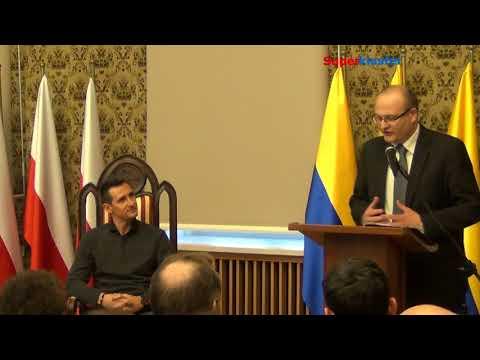 Miroslav Klose mówi po polsku / wizyta w Opolu