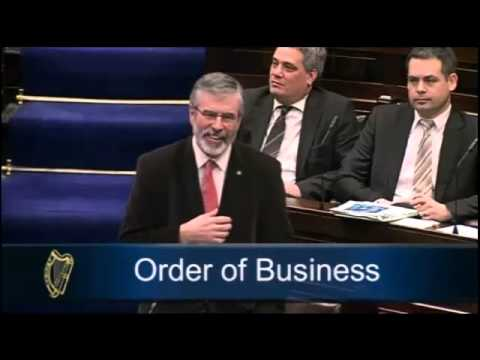 Government TDs don't like Gerry Adams' suggestion to close the Dáil bar