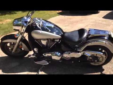 2006 Kawasaki Vulcan 2000 V2K Sharp Curve Radius Freedom Performance