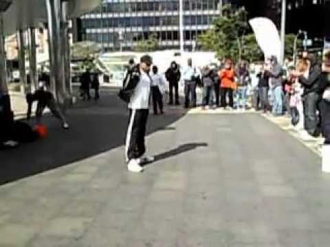 break dance in wall street