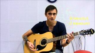 Би-2 И Чичерина - Мой Рок-Н-Ролл (Видео Урок Как Играть На Гитаре) Разбор