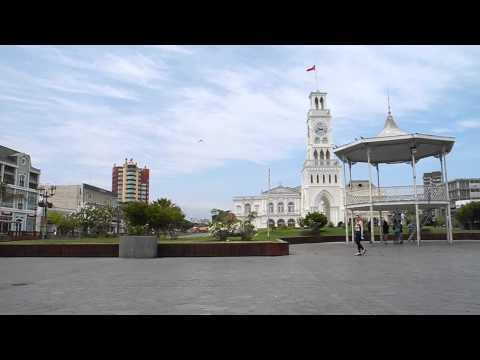 Town Square Iquique Chile Paragliding Trip 2014