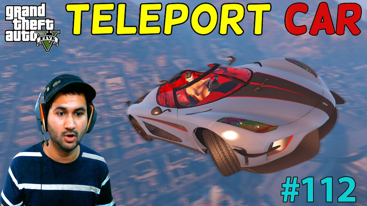 GTA 5 : TELEPORT CAR FOR TREVOR | GTA5 GAMEPLAY #112