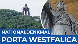 Nationaldenkmal für Kaiser Wilhelm & verlassenes Hotel | Porta Westfalica