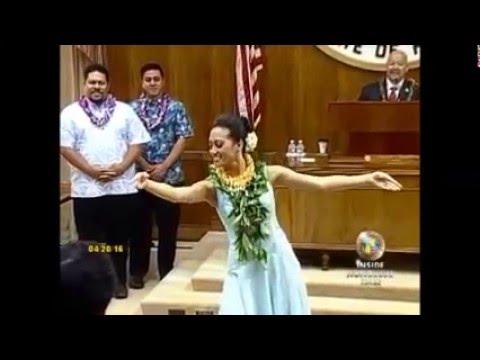 Honoring Miss Aloha Hula 2016