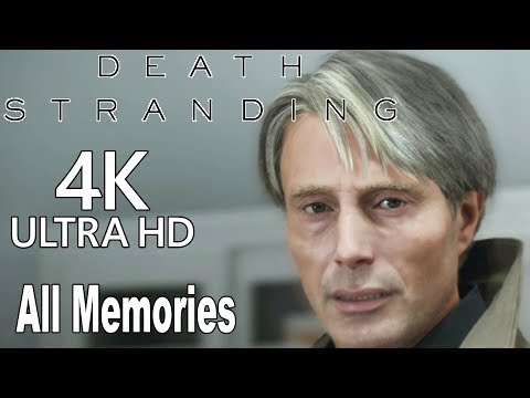 Death Stranding - All Memories Of Cliff (All Cliff Cutscenes With BB) [4K]
