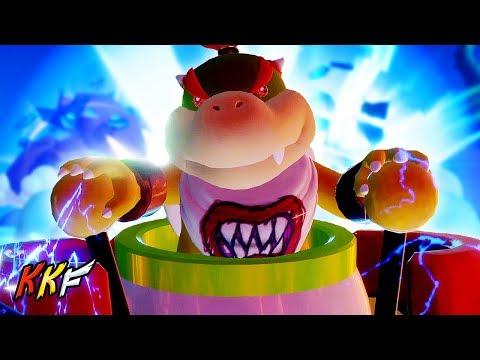 Lava Pit-5: Bowser Jr.'s Lair (vs Mecha Jr.) - Mario + Rabbids Kingdom Battle