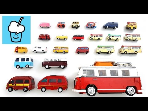 Thumbnail: Van Mini Bus for children kids and more with tomica トミカ VooV ブーブ 変身 lego tayo 타요 꼬마버스 타요 중앙차고지